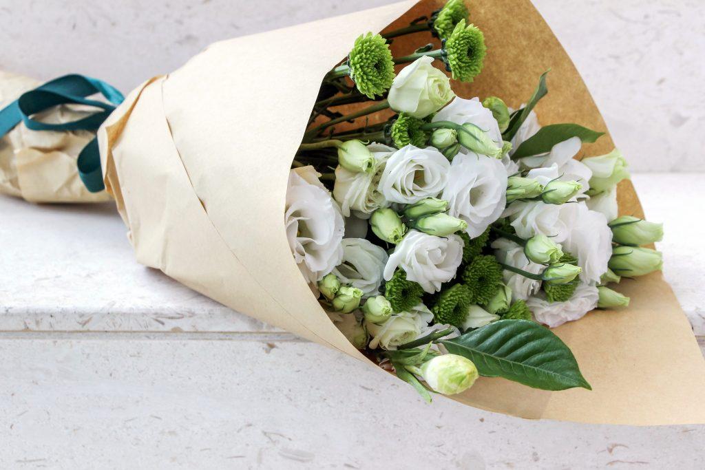 Pompon Button bouquet