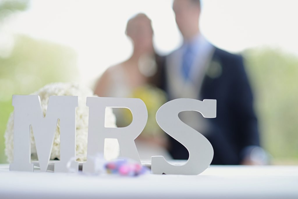 Mrs Letters Sign