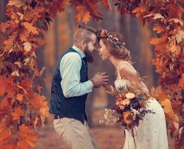 September wedding colors