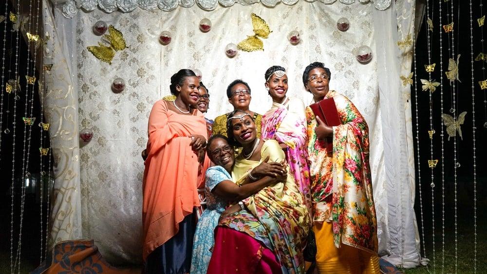 ugandan women at wedding