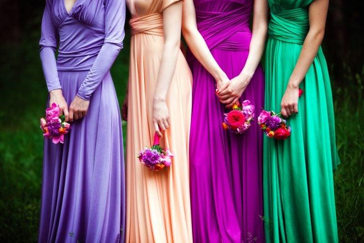 wedding colors dresses