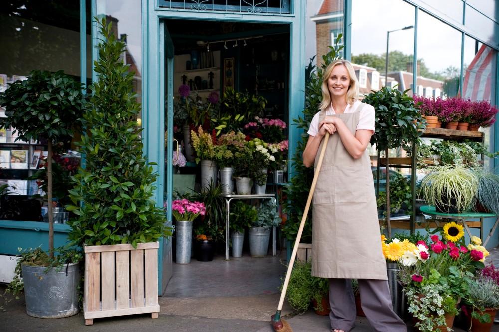florist outside shop
