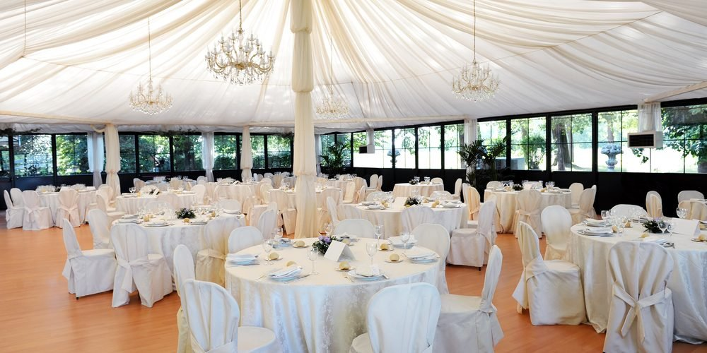 tent wedding venue