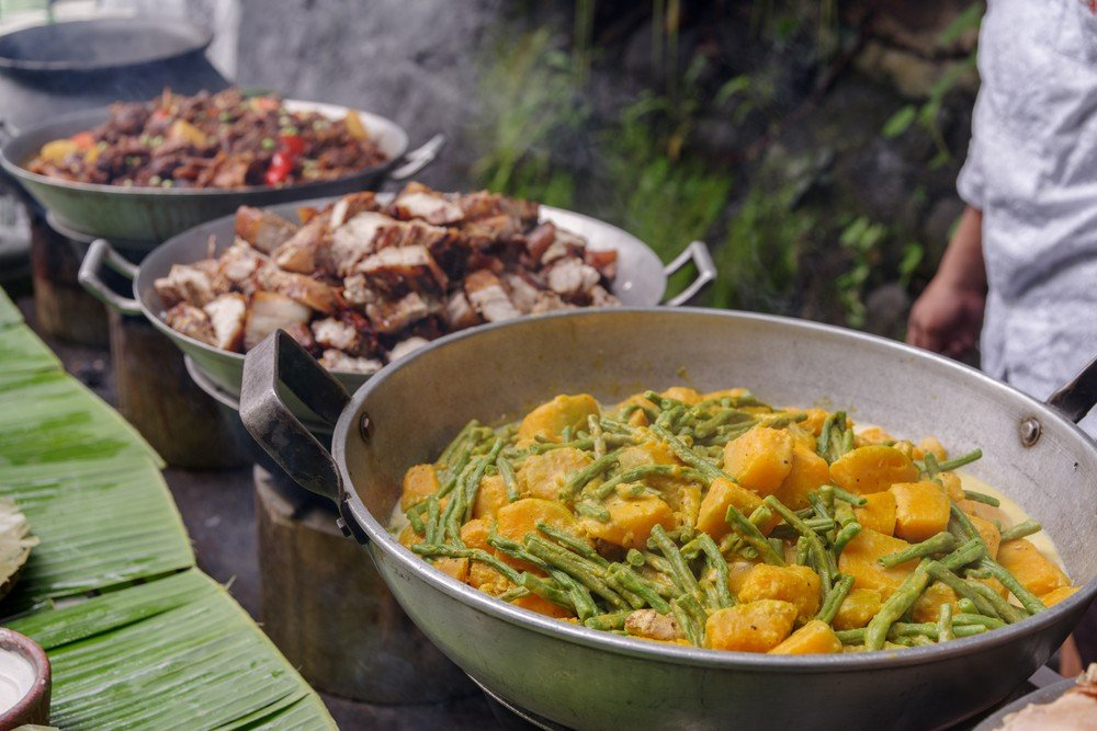 filipino wedding food