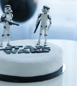 star wars wedding cake